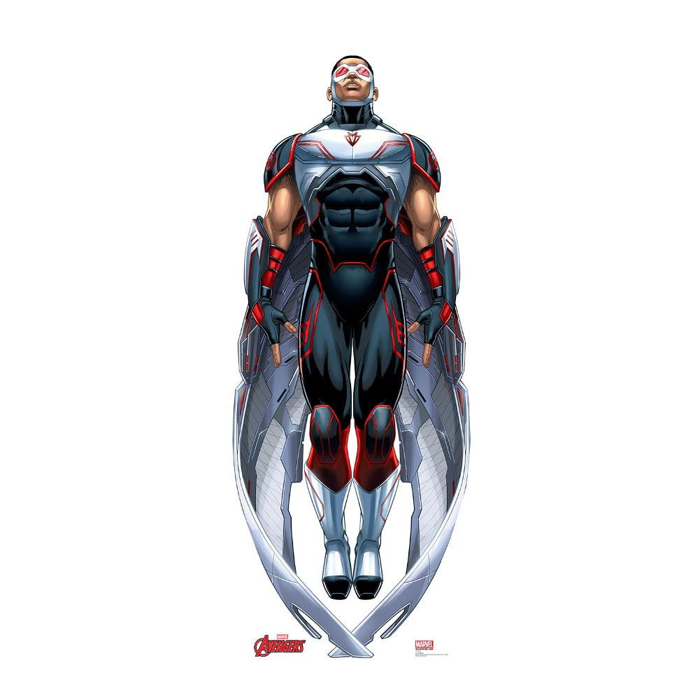 Avengers Assemble Falcon Lifesized Standup