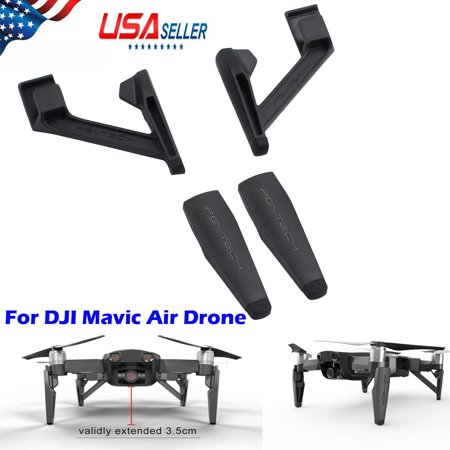 ESYNIC Landing Gear Extensions Heightened Leg Support Protector for DJI Mavic Air Drone