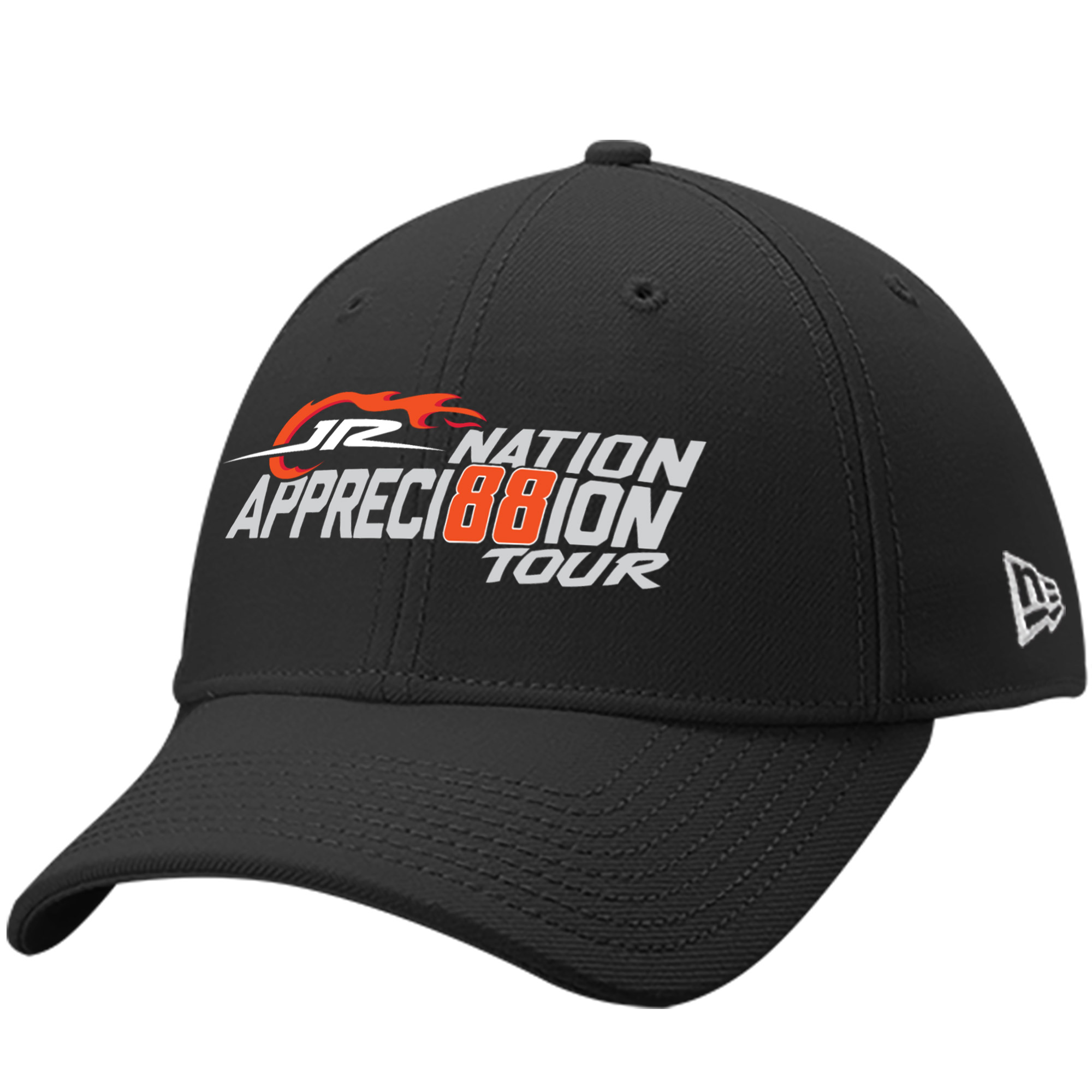 Dale Earnhardt Jr. New Era JR Nation Appreci88ion Tour 9FORTY Adjustable Hat - Black - OSFA