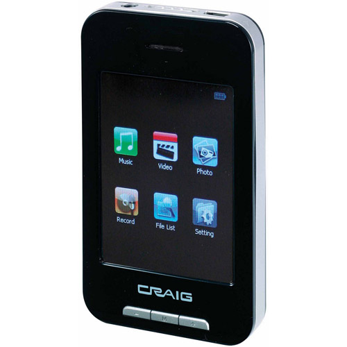 "Craig Mp3 Plus Video Player With 2.8"" To"