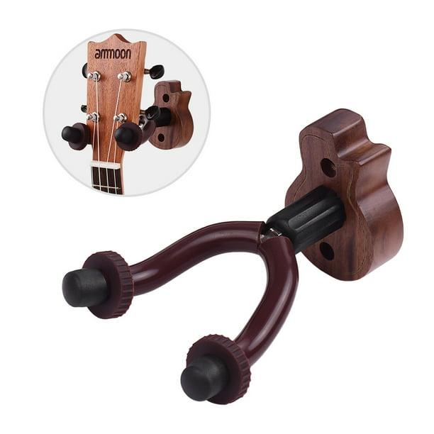 Guitar Hanger Wooden String Instrument Wall Mount Hook