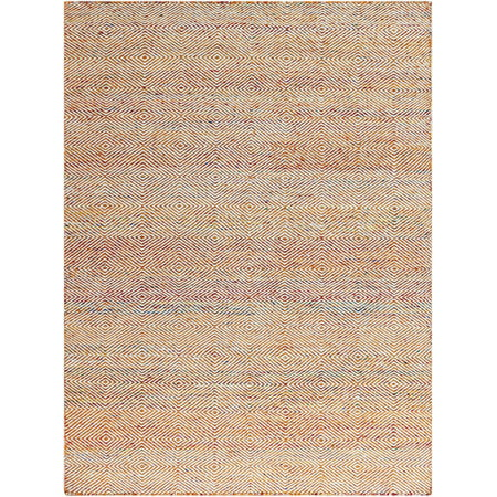 Image of Amber Modern Design Hand-Woven Rug 2'x3'