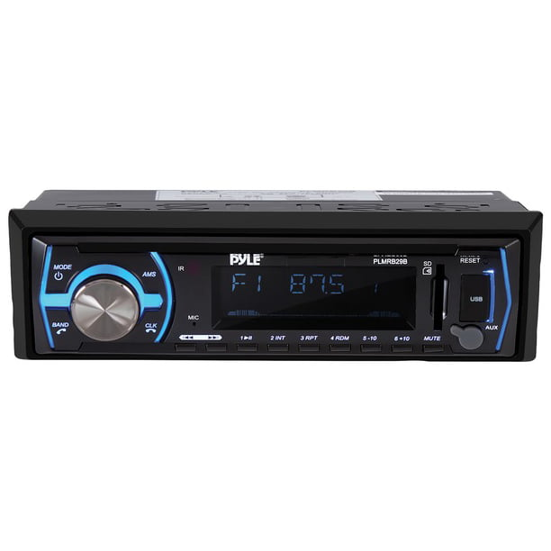 Pyle® Pyle® Single-din In-dash Digital Marine Stereo Receiver With (black)