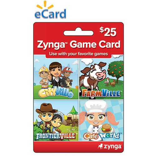 $25 Zynga Game Card (Email Delivery)