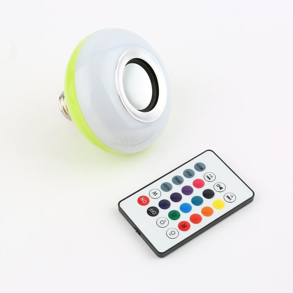 Cute 3W LED Bluetooth Music Bulb Bluetooth 3.0 Light Bulb Speaker Music Bulb Multicolor Wireless Bluetooth Stereo Speaker Bulb for Christmas