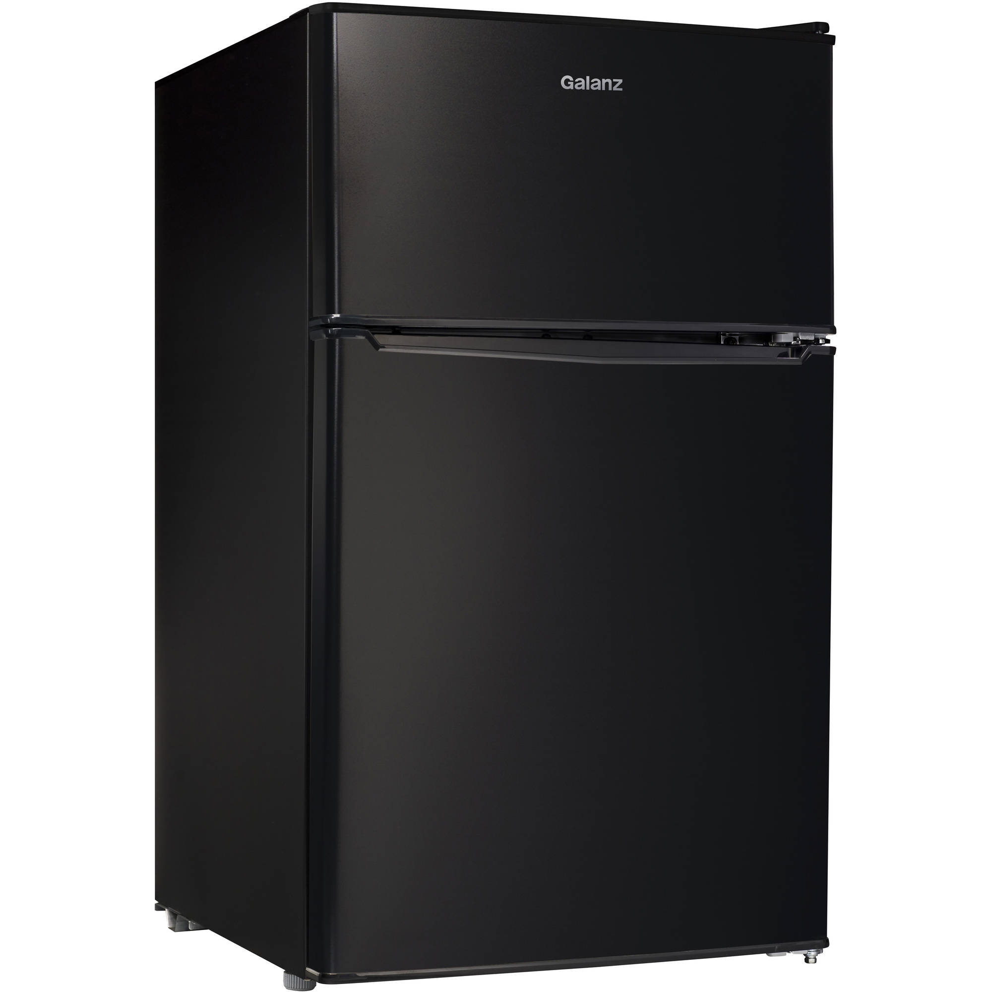 Galanz 3.1 cu ft Compact Refrigerator Double Door Black  sc 1 st  Walmart.com : appliance door - pezcame.com