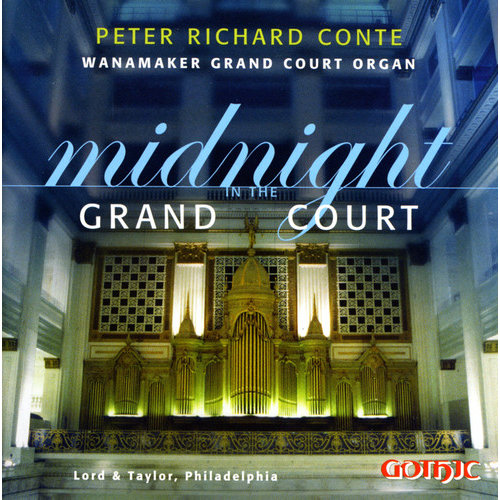 Peter Richard Conte - Midnight in the Grand Court [CD]
