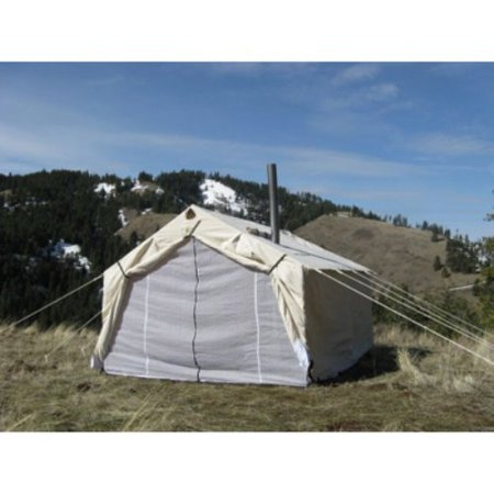 Magnum wall tent 14x16x5 ft for Homemade wall tent frame