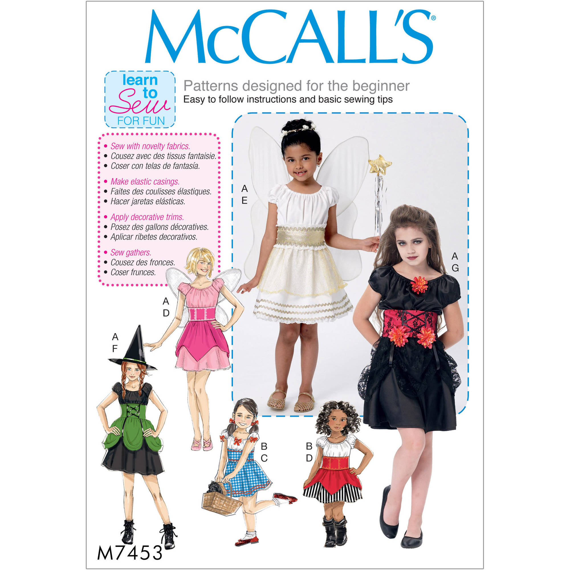 Children's/Girls' Costumes, 3-4-5-6