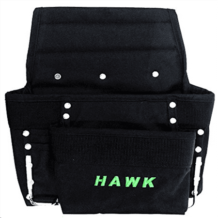 12 1/2 X 11 Inch Polyester Tool Pouch With 8 Pockets To Wear On Your (Wear Tool Belt)