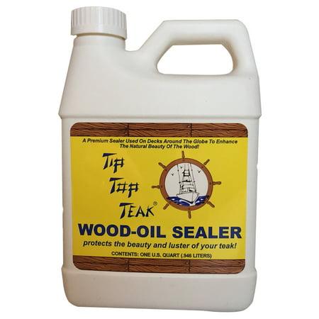 Floor Sealer - TIP TOP TEAK WOOD OIL SEALER QUART