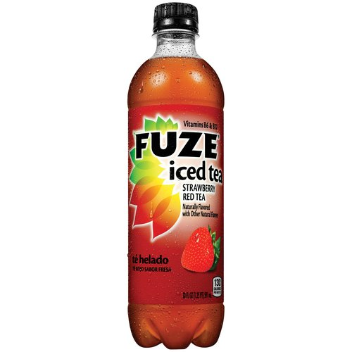 Fuze Strawberry Red Tea, 20 fl oz
