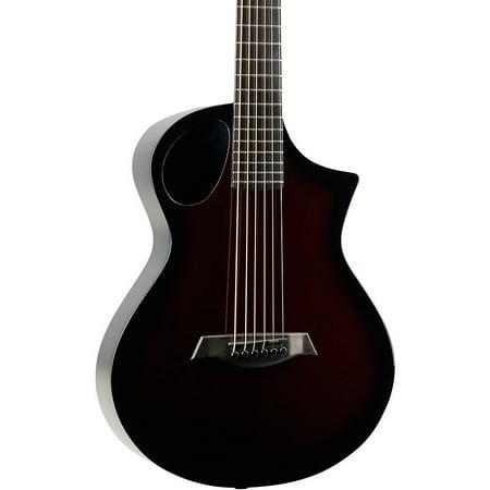 Composite Acoustics Cargo Electric-Acoustic Guitar Transparent Red