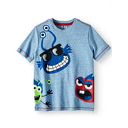 365 Kids from Garanimals Short Sleeve Wrap Around Graphic T-Shirt (Little Boys & Big Boys)