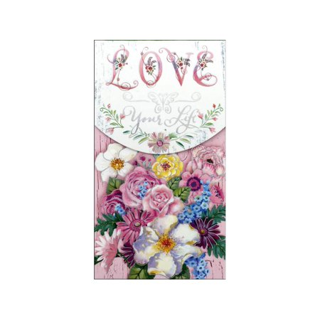 Punch Studio Note Pad Pocket Lg Love Your Life