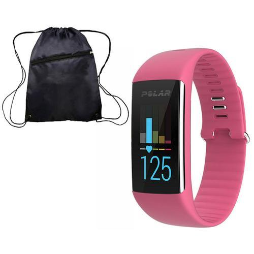 Polar 90057440K A360 Fitness Monitor pink Medium with bag