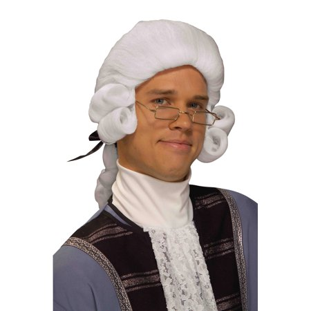 Colonial Man Wig (White)