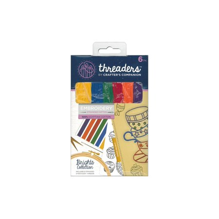 Cc Threaders Embroidery Stranded Cotton Brights - image 1 of 1