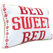 3 Birds Mini Pillow Counted Cross Stitch Kit, 9 Piece