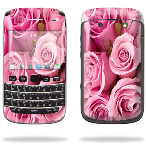 Mightyskins Protective Skin Decal Cover for Blackberry Bold 9790 Cell Phone wrap sticker skins Pink Roses