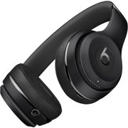 Refurbished Apple Beats Solo3 Black On Ear Headphones MP582LL/A