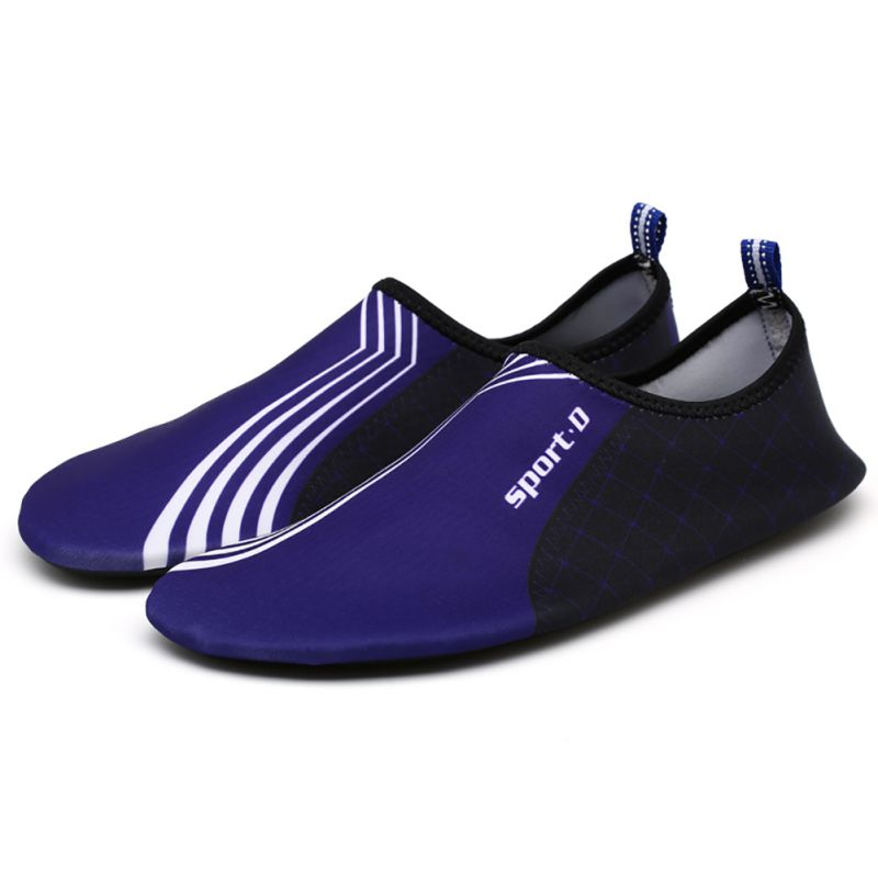 Click here to buy Women's Men's Water Shoes Slip On Flexible Pool Beach Swim Surf Yoga Unisex.