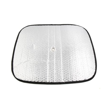 2Pcs Aluminium Foil Front Rear Side Window Sun Shade Screen Visor Shield for