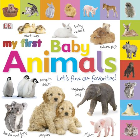 My 1st Baby Animals Lets Find Our Favori (Board