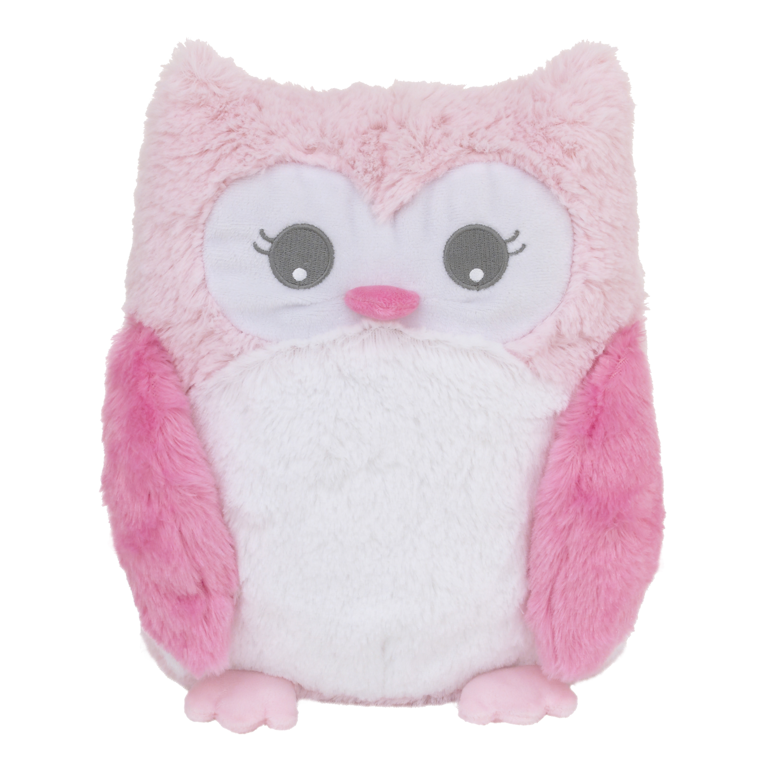 Little Love by NoJo Plush Tummy Time Play Mat - Pink Owl