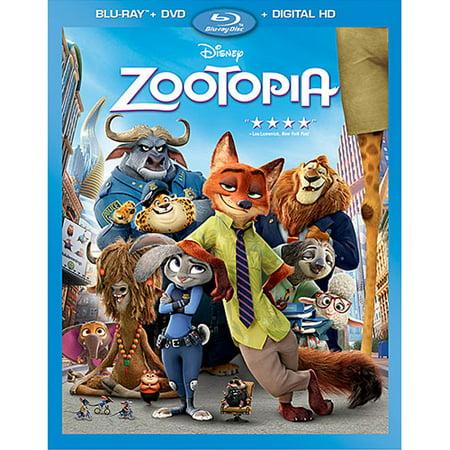 Zootopia (Blu-ray + DVD + Digital HD)](Halloween Animation Hd)