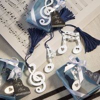 Musical Note Bookmark Favors [SET OF 12], Looking for a lower quantity or personalization? Please go to Seller Help to contact us By Fashioncraft