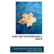 Junior High School Mathematics : Book III