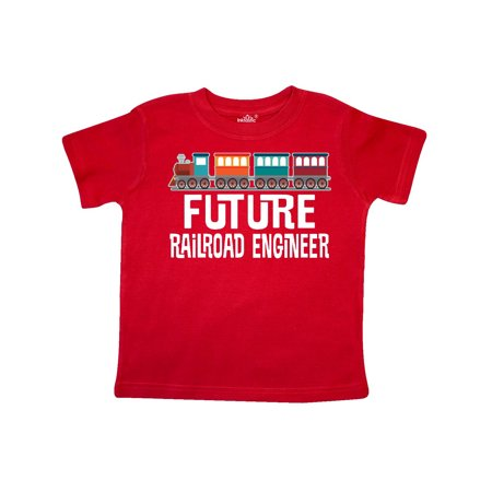 Future Railroad Engineer Train Toddler T-Shirt