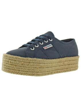 Superga Womens 2790 Canvas Low-Top Platform Sneakers