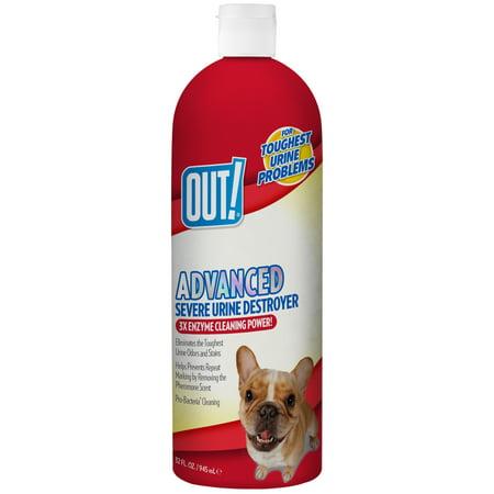 Out  Advanced Severe Pet Urine Destroyer  32 Oz
