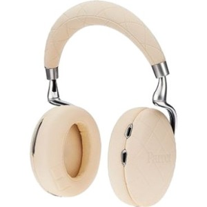 Parrot Zik 3 Noise Canceling BT Headset, Wireless Charger - Ivory Overstitched