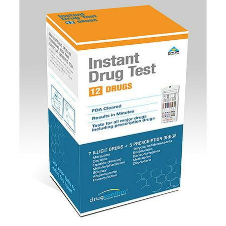 Drugconfirm instant multi drug test kit 12 panel walmart drugconfirm instant multi drug test kit 12 panel solutioingenieria Image collections
