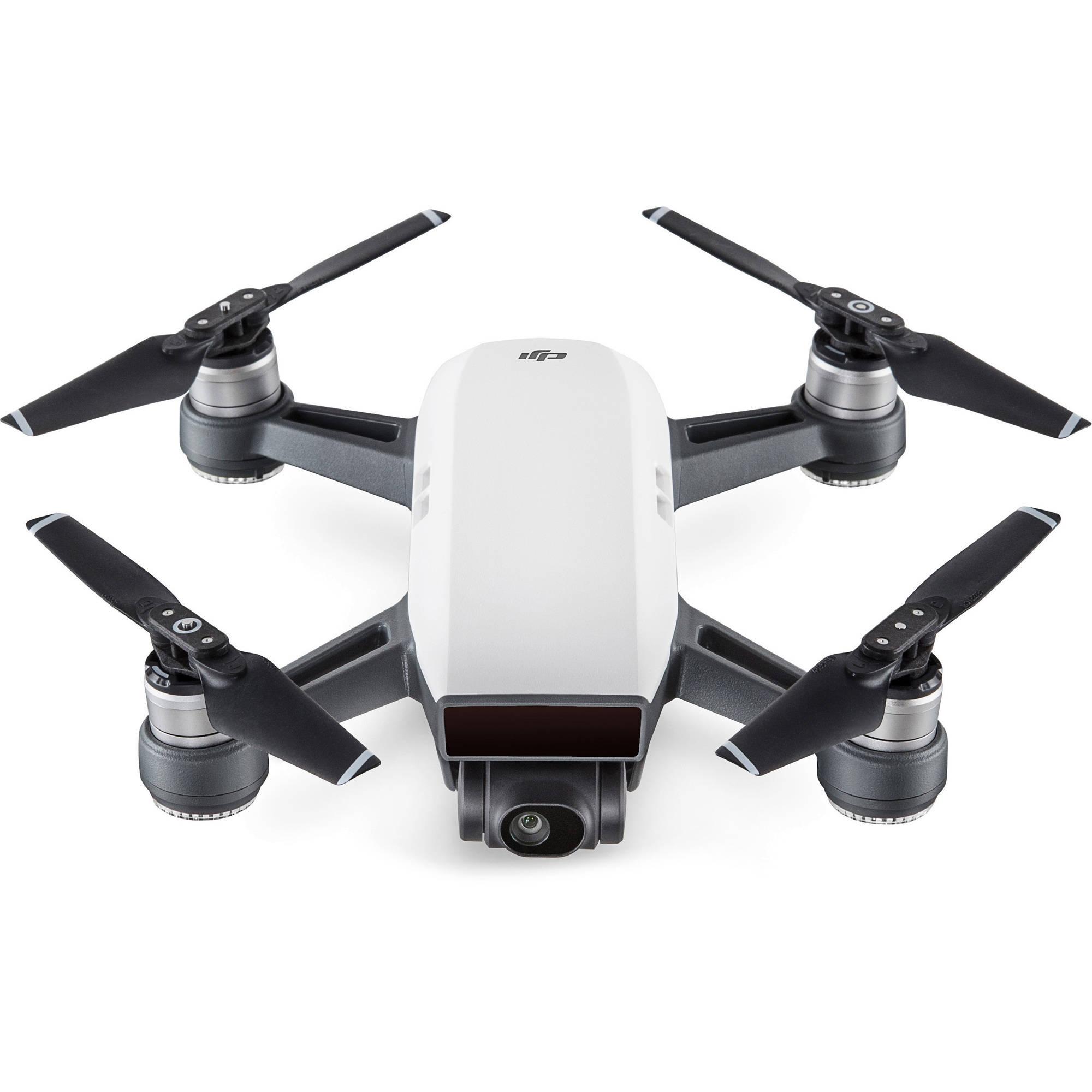DJI Spark Drone in Alpine White
