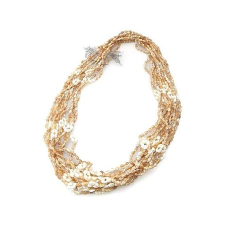 Hawaiian Shell Leis 12 Pack - Shell Lei