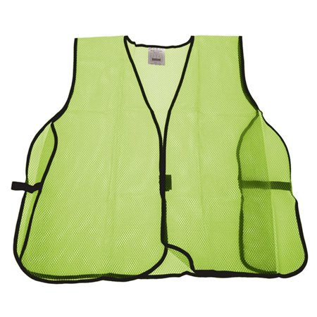 Universal Lime Green High Visibility Mesh Safety Vest Unisex One Size Fits - Lime Green Universe Manual