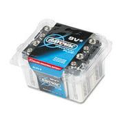 Ray-O-Vac AL9V8 Industrial PLUS Alkaline Batteries, 9V, 8/Pack