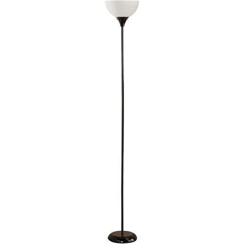 Mainstays Black Floor Lamp with CFL Bulb, HW-F1171BK-CA by Adesso Inc.