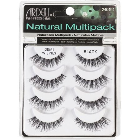56d1456e212 ARDELL Professional Natural Multipack - Demi Wispies Black - Walmart.com