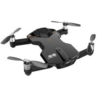 Wingsland S6 (Outdoor Edition) Black Mini Pocket Drone 4K Camera + Drone Battery