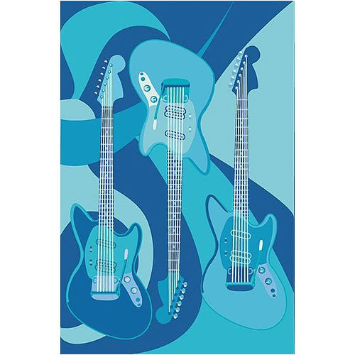 Fun Rugs Supreme ''The Blues'' Area Rug