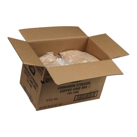 Continental Mills Cinnamon Streusel Coffee Cake Mix, 7 Pound -- 4 per case.