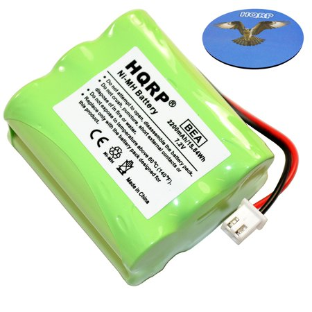 HQRP 2200mAh Battery for TDK Life on Record A73 Boombox Bluetooth Wireless Speaker LoR A-73 77000018604 FBYA03396-001 + HQRP Coaster