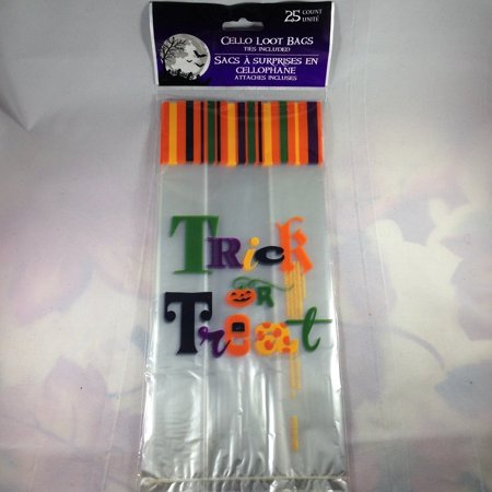 Halloween Trick or Treat Party Favor Bags 25-count By Greenbriar International
