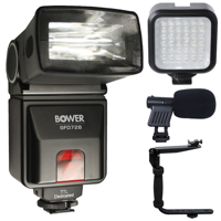 i-TTL Flash with Accessories For Nikon D3300 , D3400 , D5300 and D5600