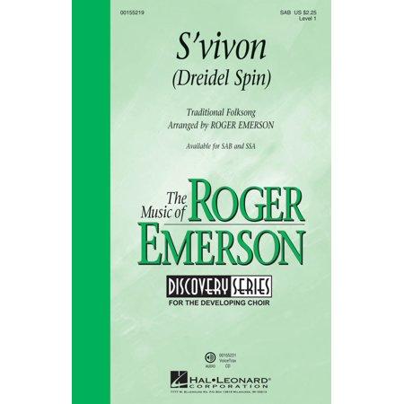 Spin A Dreidel (Hal Leonard S'vivon (Dreidel Spin) (Discovery Level 1) SAB arranged by Roger)